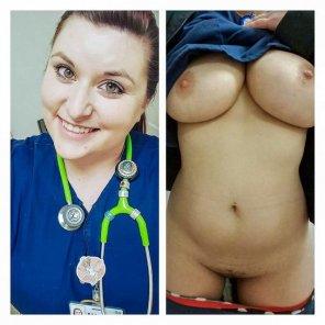 amateur photo On/Off Nurse