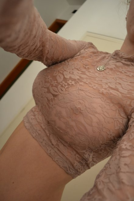Frilly and see through Porn Photo