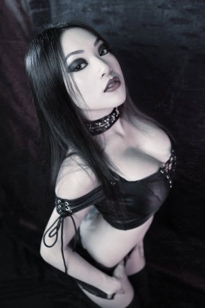amateur photo Goth Asian