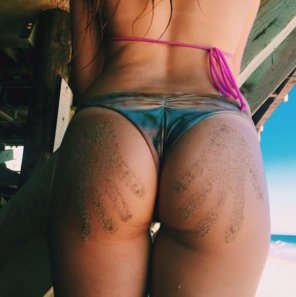 amateur photo My sandy cheeks