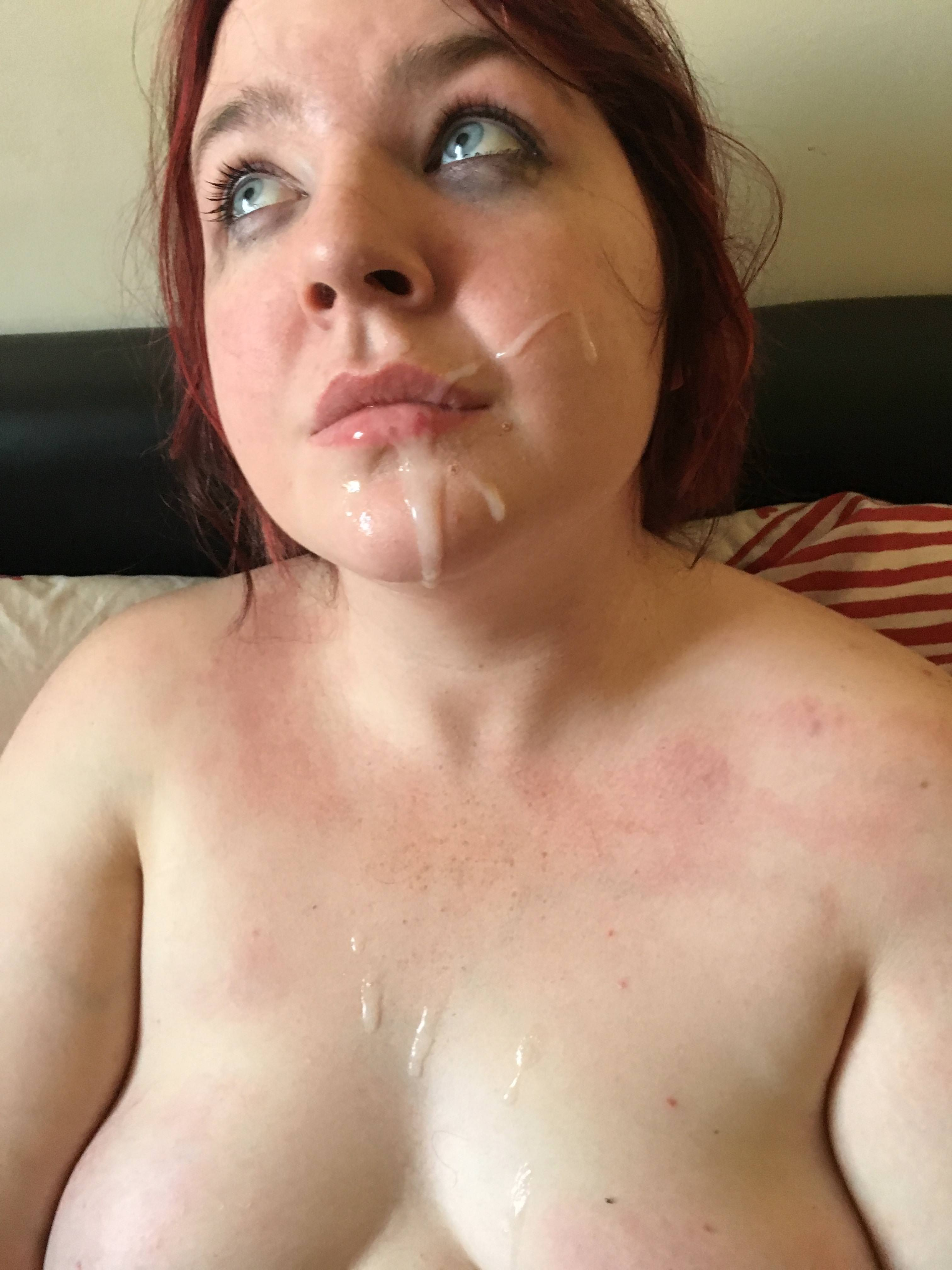 Remarkable Girls covered in nigger cum think