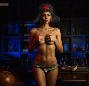 amateur photo Viktoria Odintsova - Red Star