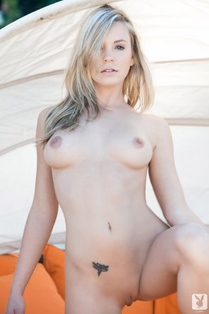 amateur photo California blonde