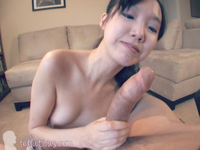 Asian Takes First Big Dick