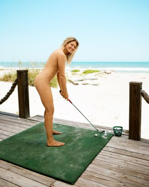 amateur photo Norwegian professional golfer: Suzann Pettersen