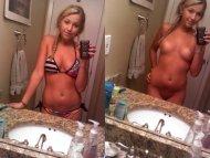 amateur photo Cute Bikini Blonde