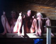 amateur photo sauna