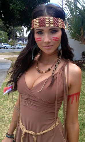 amateur photo Pocahontas