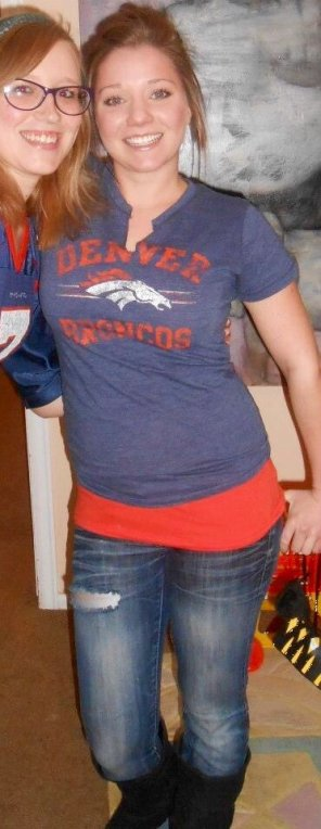 amateur photo Broncos fan