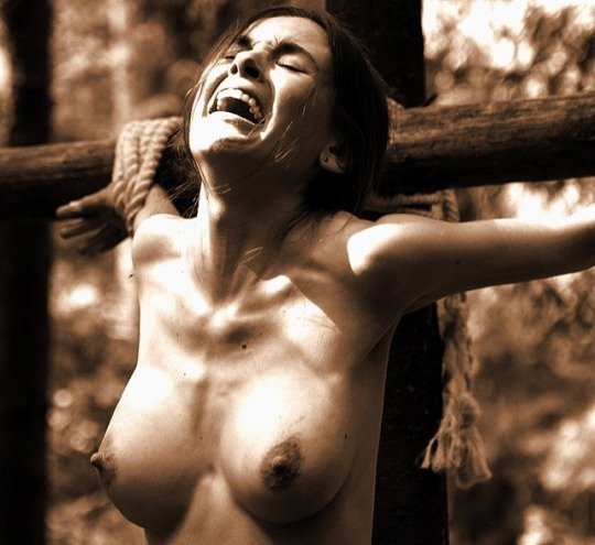 Classic cross Porn Photo