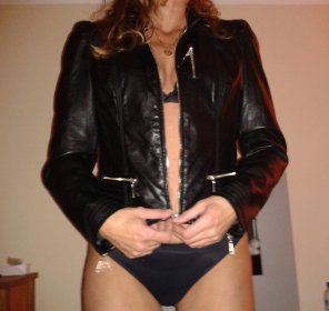 amateur photo my biker chick