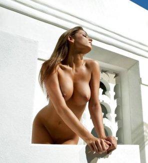 amateur photo Big tits brunette