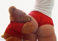 amateur photo Dirty teddy