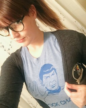 amateur photo Spock Shirt