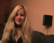 German Chick shows what she got - scene 3