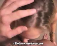 Blonde Girl taking it deep - scene 4