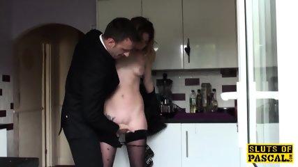 Brit Sub Cumswallowing Maledoms Load - scene 3