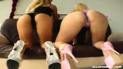 Hot blondes get hammered in every way - scene 6
