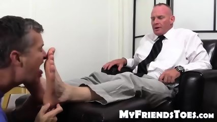 Dean Dev Loves To Boss Students For Foot And Toe Worship