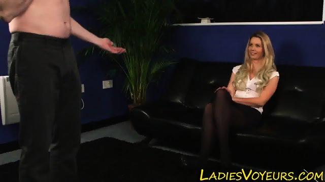 Classy mistress giggles