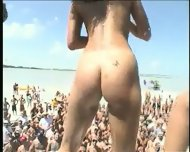 Bikini Contest On The Beach - scene 1