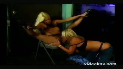 Ashton Moore licks & straps it on - scene 1