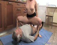Mom And Dad Enjoy Each Other In The Kitchen - scene 10