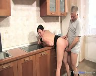 Mom And Dad Enjoy Each Other In The Kitchen - scene 4
