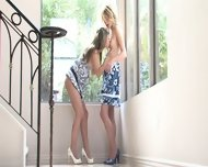 Two Lesbian Friends Play In The Corner - scene 4