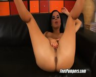 Renata's Hot Feet In Sensual Action - scene 2