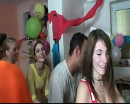 Blonde Agnes Has Great Fun At Party - scene 7