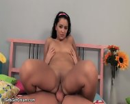Brunette Candy Fucked In Acrobatic Positions - scene 8