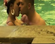 Pool Party Turns Into Sex Party - scene 3