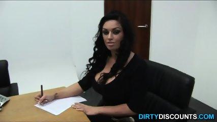 Busty Brit Domina Spunk - scene 2