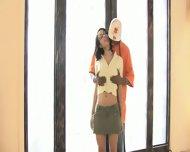 Sexy Latina Aliana Love Jumps On Black Cock - scene 1