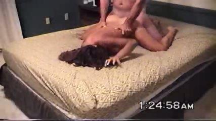 Brunette babe fucked hard