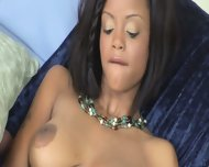 Lavish Styles Alone With Giant Dildo - scene 4