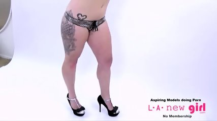BLONDE GETS FUCKED DURING PHOTO SHOOT CASTING AUDITION - scene 7