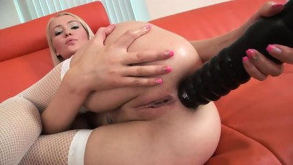 Two Dicks Is Too Little For Logan's Big Wet Holes