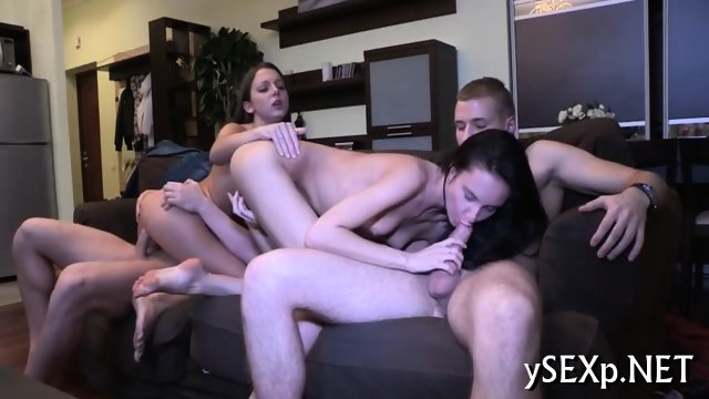 Unstoppable group sex action
