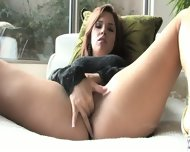 Sensual Brunette Shows Her Beautiful Vagina