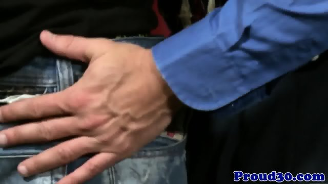 Mature office hunk assfucking tattooed ass