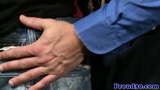 Mature office hunk assfucking tattooed ass