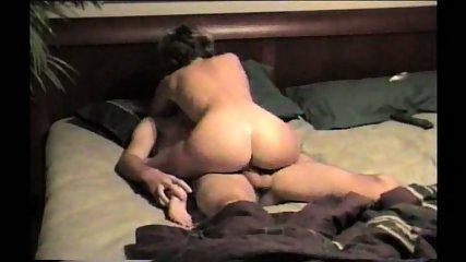Woman enjoys riding her fiance. - scene 3
