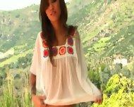 Kimberly Kat Breathes Fresh Air - scene 2