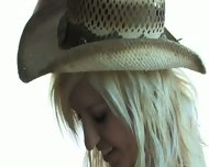 Cowgirl Victoria White Is Waiting For Her Stallion - scene 2