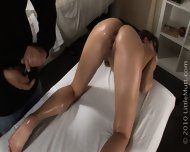 Young Girl Gets One Of A Kinde Erotic Massage - scene 4