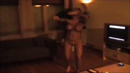 Dancing Naked In Fishnet - scene 2