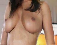 Perfect Body Brunette Rubbing Her Wet Pussy - scene 2
