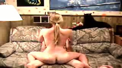Blonde Girl Rides A Dick In All Directions - scene 3